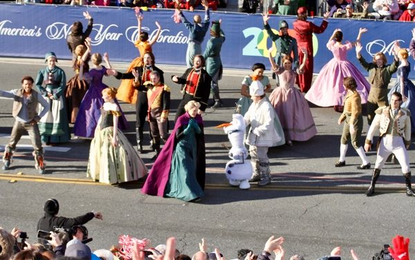 Photos | Frozen the Musical @ the 2020 Rose Parade