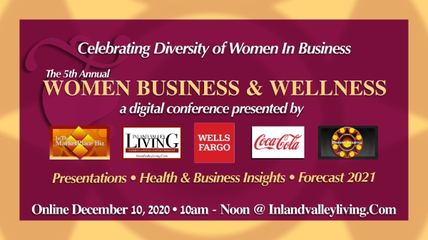 5th Annual Women Business & Wellness – a digital conference